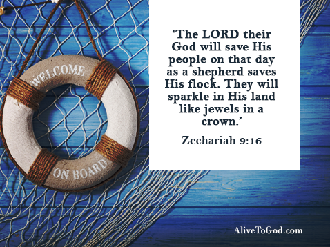 Be encouraged because the Lord loves to save His people.